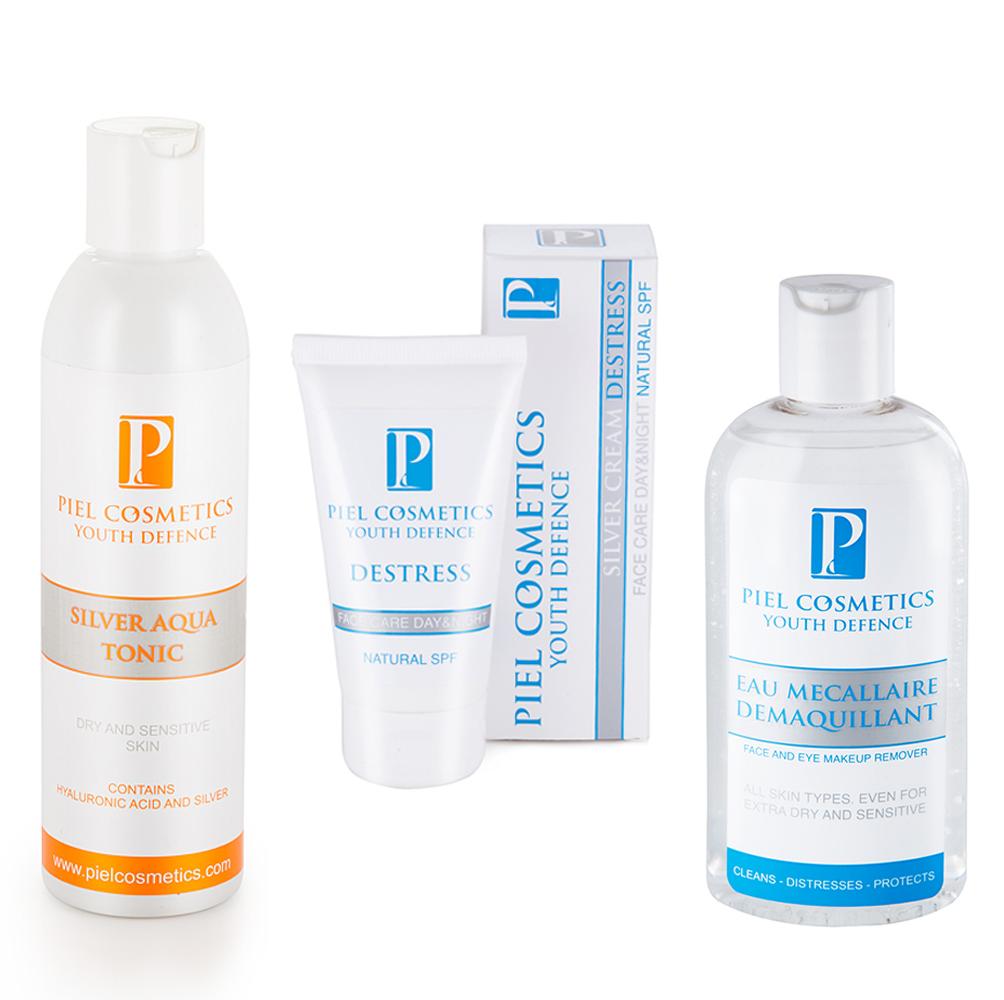 Купить piel cosmetics destress ультра увлажняющий крем с натуральными спф фильтрами. купить в киеве, львове, днепропетровске, уж.